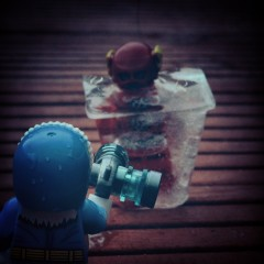 Captain Cold vs The Flash